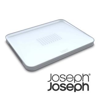 【Joseph Joseph 英國創意設計餐廚】好好切雙面傾斜砧板-大白(60003)