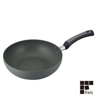 【FREIZ】日本進口耐磨陶瓷平底鍋(28CM)