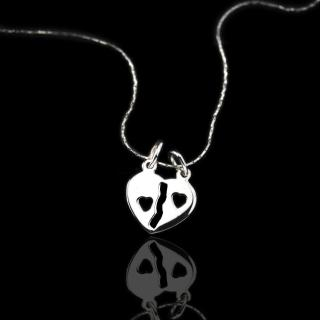 【xmono】牽手符號925純銀項鍊