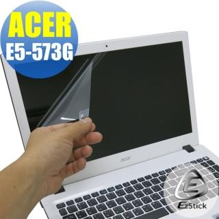 【EZstick】ACER Aspire E5-573G 專用 靜電式筆電LCD液晶螢幕貼(可選鏡面或霧面)