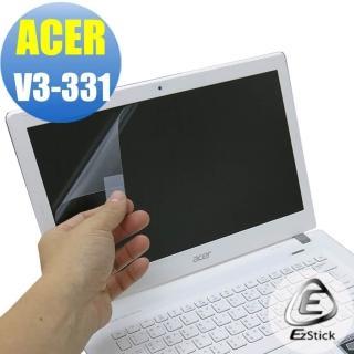【EZstick】ACER Aspire V3-331 專用 靜電式筆電LCD液晶螢幕貼(可選鏡面或霧面)