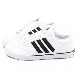 【Adidas】男款GVP STR 網球運動鞋(B24001-白黑)
