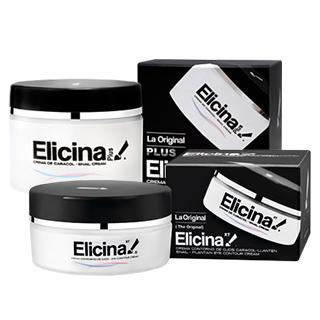 【智利進口 Elicina】蝸牛面霜眼霜組(面霜 40克 X 1罐 + 眼霜 15克  X 1)