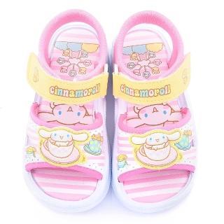 【三麗鷗】Cinnamoroll大耳狗 中大童 可愛涼鞋(815747-粉)