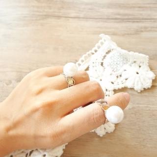 【梨花HaNA】韓國自由存在大珍珠麻花戒指