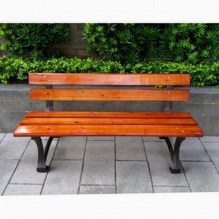 【BROTHER 兄弟牌】歐式重型5尺鑄鐵公園長椅 附椅背