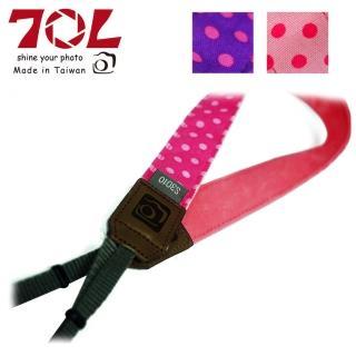 【70L】COLOR STRAP 彩色相機背帶 可愛圓點系列