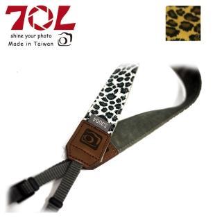 【70L】COLOR STRAP 彩色相機背帶 野性豹紋系列