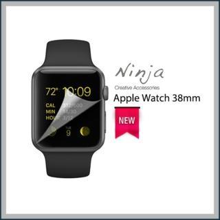 【東京御用Ninja】Apple Watch 38mm專用高透防刮無痕螢幕保護貼