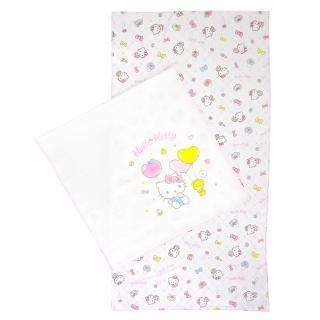 【HELLO KITTY】印花紗布澡巾(2入)