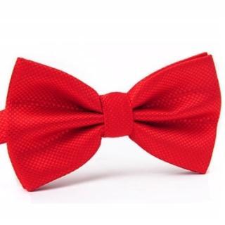 【拉福】紋路領結結婚領結糾糾(大紅色)