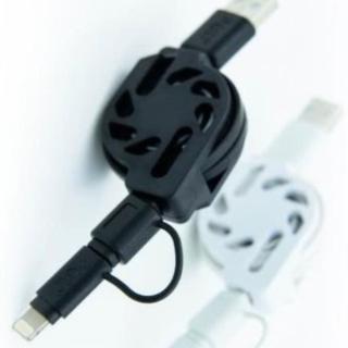 【Ainmax 艾買氏】PGL iPhone 多合一(Lightning及Micro USB 傳輸線)