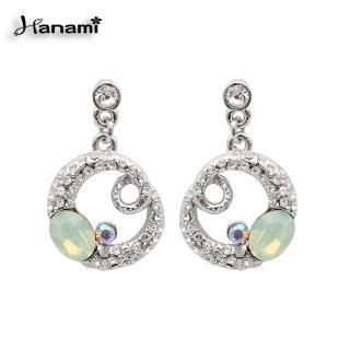 【Hanami】施華洛世奇夏日晶漾水晶耳環