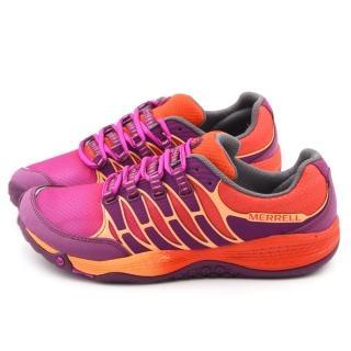 【MERRELL】女款 ALLOUT FUSE 輕量慢跑鞋(ML06326-橘)