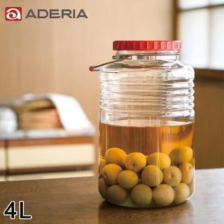 【ADERIA】日本進口復刻玻璃梅酒瓶4L