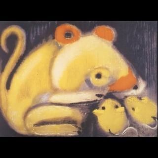 【劉其偉藝術典藏】親筆簽名限量發行石版畫(生肖系列--鼠)