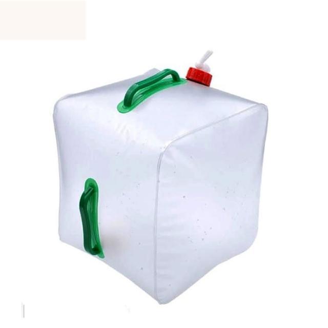 【PUSH! 戶外休閒用品】20公升高拉力強韌耐老化折疊水桶(折疊水壺)