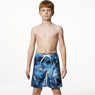 【SAIN SOU】兒童海灘泳褲(附泳帽A65502)