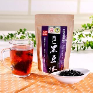 【台灣好品-全程有機認證】天然有機青仁黑豆水-有機認證(10包組)