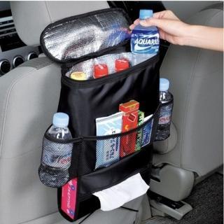 車用椅背置物保冷袋/保溫袋(面紙盒功能)