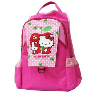 【凱蒂貓Hello Kitty】雙層休閒書背包_apple(KT-2929)
