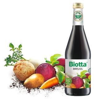 【Biotta《百奧維他》】布魯士根莖蔬菜純汁(500mlx6瓶)