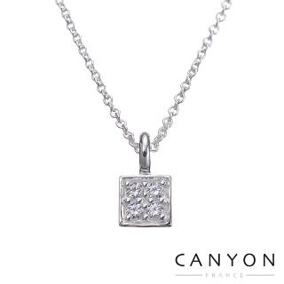【CANYON】閃亮小方塊項鍊