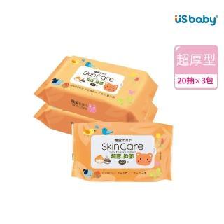 【優生】嬰兒柔濕巾(20抽3包入)