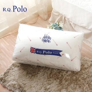 【R.Q.POLO】台灣製造-舒眠透氣枕/枕心/枕頭(2入)