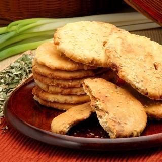 【美雅宜蘭餅】宜蘭三星蔥古法燒餅(原味×3包)