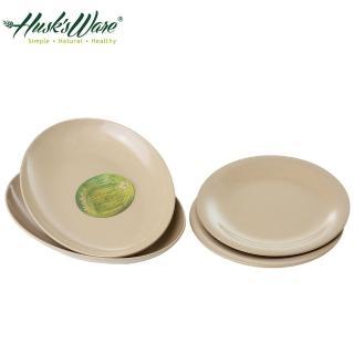【美國Husk's ware】稻殼天然無毒環保餐盤4件組