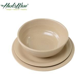 【美國Husk's ware】稻殼天然無毒環保餐盤3件組