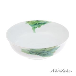 【NORITAKE】京香旬彩白蘿蔔碗公(25cm)
