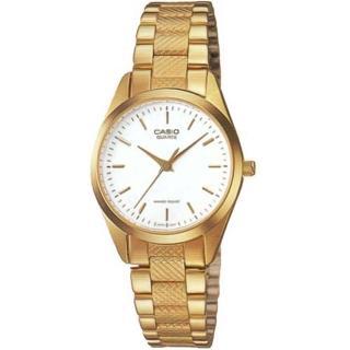 【CASIO 卡西歐】秀麗風格指針女錶(LTP-1274G-7ADF)