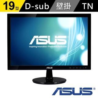 【ASUS】VS197DE 19型 寬螢幕(黑)