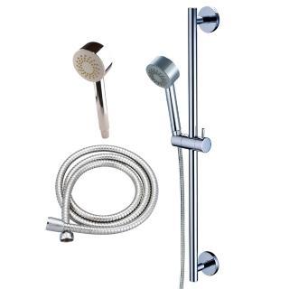 【BACHOR】滑桿-吉美純銅淋浴滑桿(含軟管+蓮蓬頭)