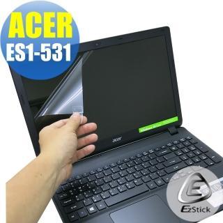 【EZstick】ACER E15 ES1-531 專用 靜電式筆電LCD液晶螢幕貼(可選鏡面或霧面)
