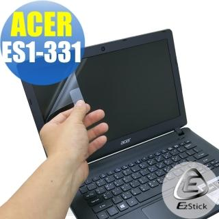 【EZstick】ACER E13 ES1-331 專用 靜電式筆電LCD液晶螢幕貼(可選鏡面或霧面)
