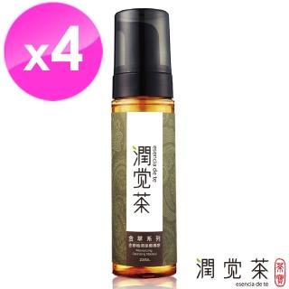 【茶寶 潤覺茶】金萃植潤潔顏慕斯200ml(4瓶組)