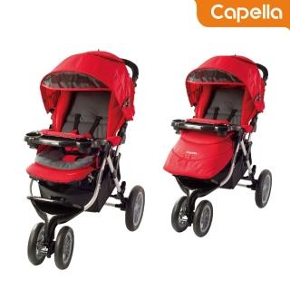 【CAPELLA】S901R三輪慢跑車-NEW(紅)