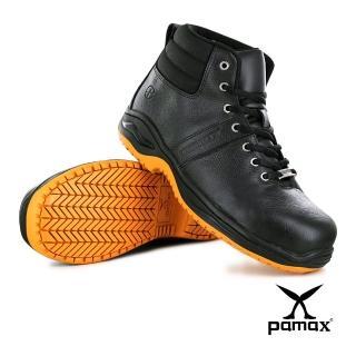 【PAMAX 帕瑪斯】頂級專利抗菌氣墊、高筒止滑安全鞋、防穿刺鋼頭鞋、抗滑鞋(PA5902LP /男)