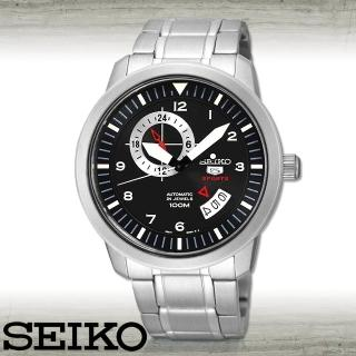 【SEIKO 精工】自動機械機芯男錶_錶殼4.5公分(SSA205J1)