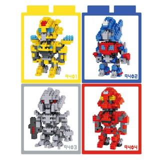 【LOZ】鑽石積木 9401 - 9404 變形金剛系列 益智玩具