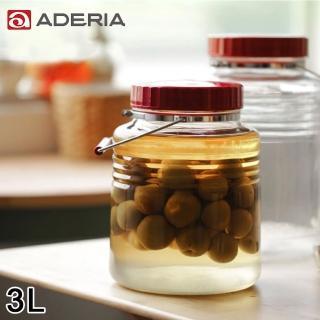 【ADERIA】日本進口復刻玻璃梅酒瓶3L