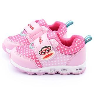 【童鞋城堡】Paul frank大嘴猴 中童 氣墊運動鞋(P5043001-粉)
