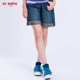 【ET BOiTE 箱子】貼袋五分牛仔褲