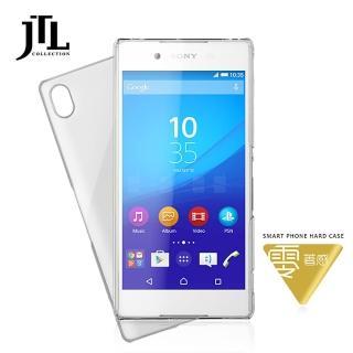 【JTL】Sony Xperia Z3 Plus 超透明輕薄防刮高質感手機保護殼(透亮/透黑/霧透)