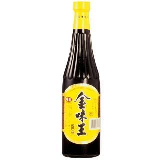 【味王】金味王純釀醬油780ml