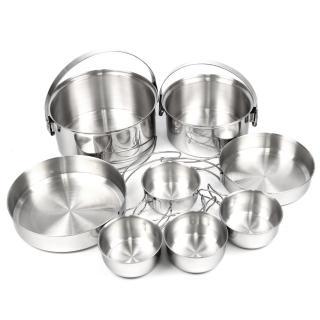 【Rhino 犀牛】4-5人不鏽鋼套鍋