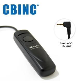 【CBINC】C1 電子快門線 For CANON RS-60E3